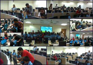 Computer Class training to economically backward