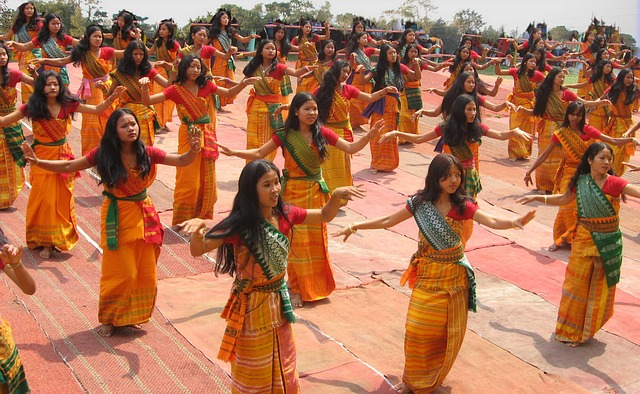 More accustomed to a Bodo Dance?