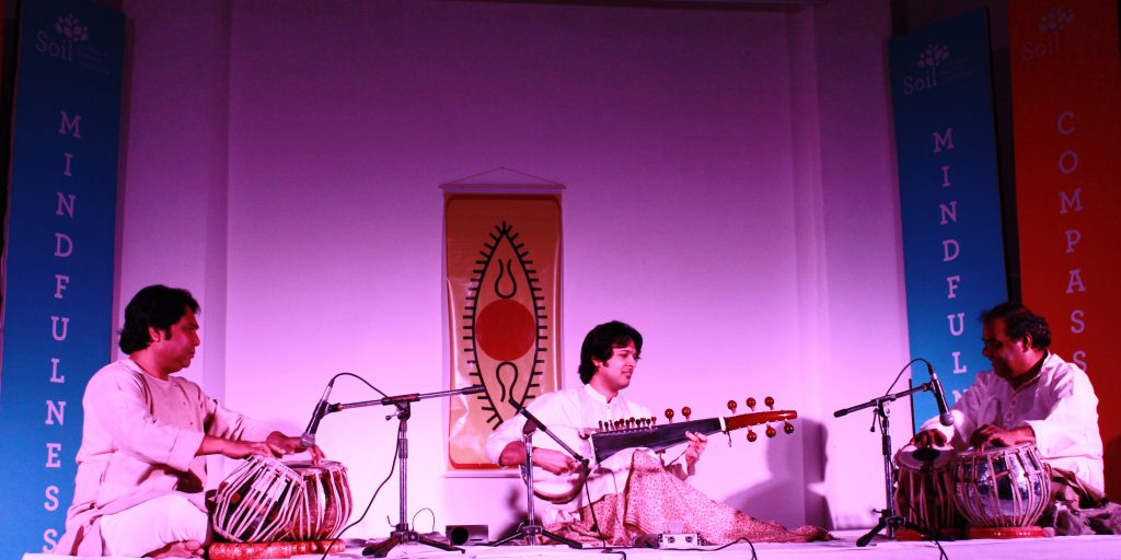 SOIL Students learn leadership through music - Sarod Maestro, Ayaan Ali Khan performs at SOIL