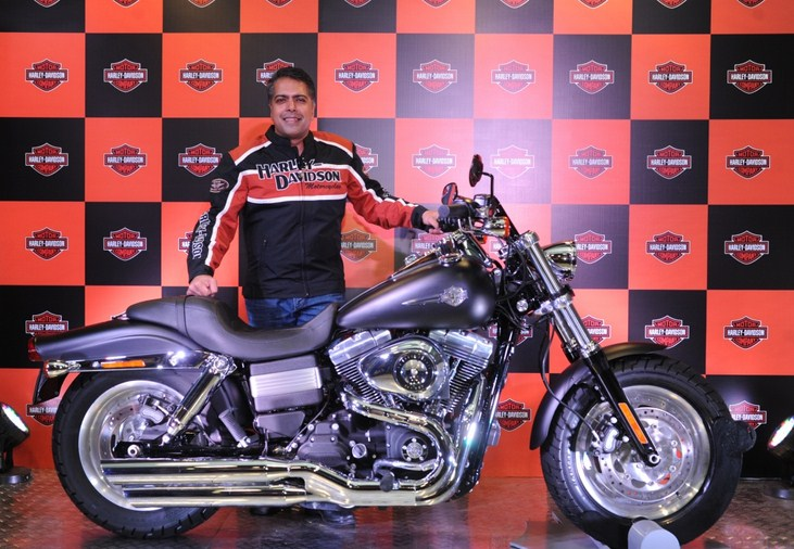 Mr.-Anoop-Prakash-Managing-Director-Harley-Davidson-India-at-the-launch-of-FAT-BOB-in-Delhi_1