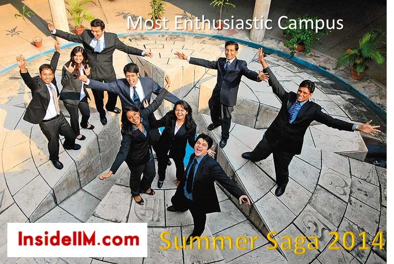 Summer Saga 2014  - Most Enthusiastic Campus