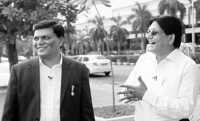 Milind Kamble and Chandra Bhan Prasad