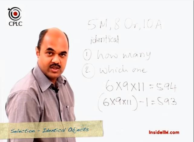 Permutations, Combinations and Probability - InsideIIM