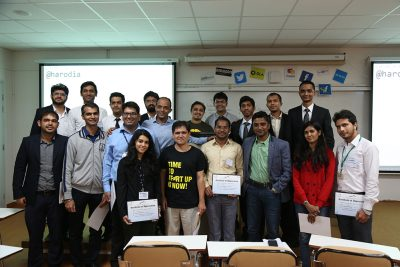 Aarush-24 hours startup challenge along with Mentors from HeadStart