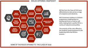 mica placements 2018: Roles offered