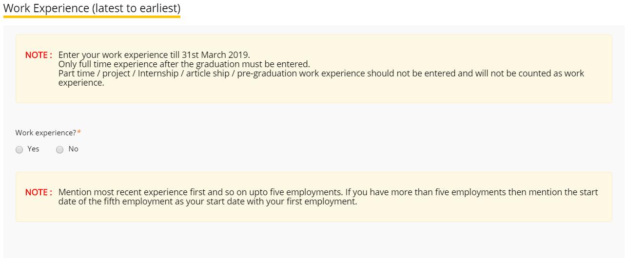 XAT Application Form