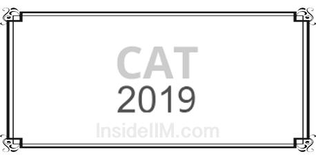 CAT exam 2019