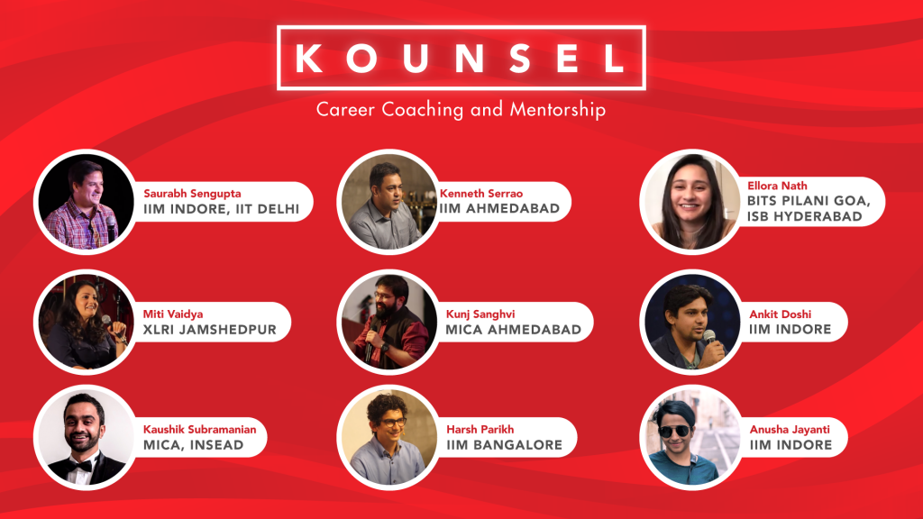 Kounsel | 1 on 1 Mentorship And Career Coaching Program