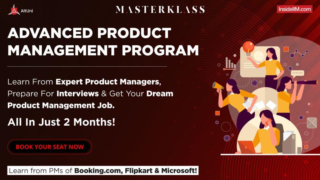 Advanced Product Management Program