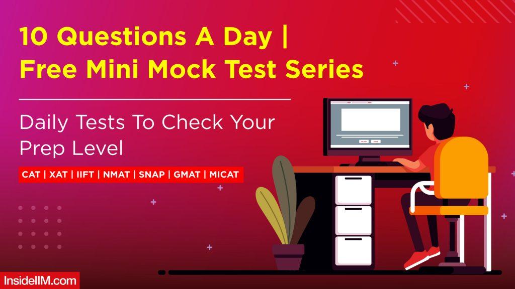 Daily Free Mini Mock Tests