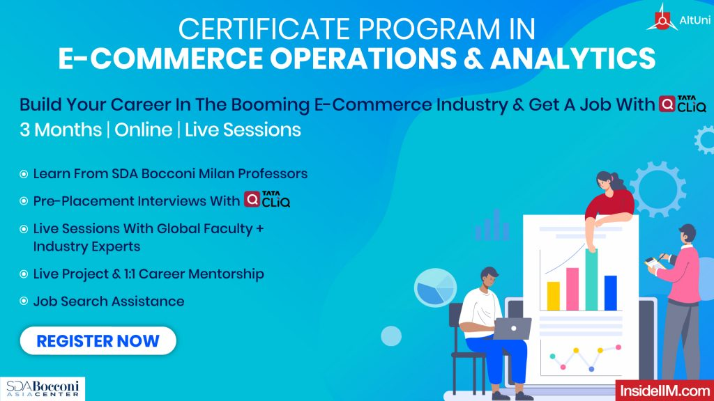 Certification In E-Commerce Operations & Analytics