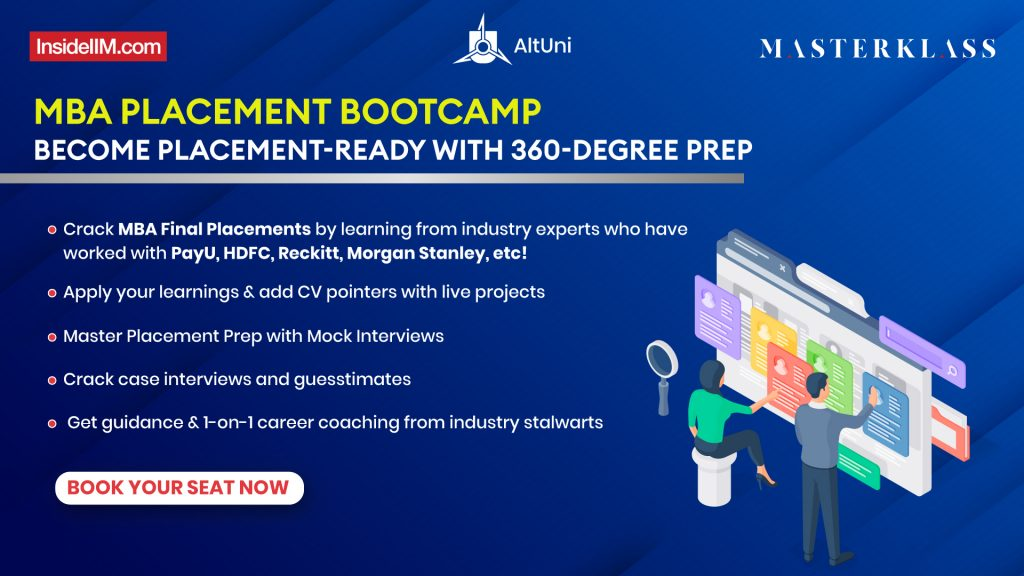 MBA Placement Bootcamp